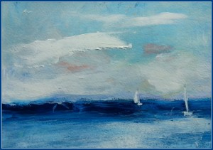 Catching the Wind     SOLD